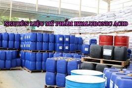 Nguyên liệu mỹ phẩm hyaluronic acid- Nguyên liệu mỹ phẩm cấp nước