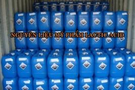 Nguyên liệu mỹ phẩm Lactic Acid- Nguyên liệu mỹ phẩm tẩy da chết